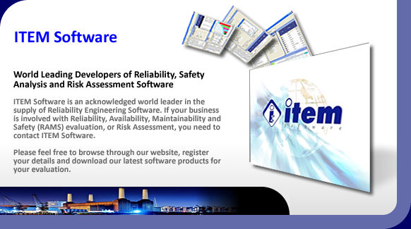 Reliability, saftey and risk assessment software.